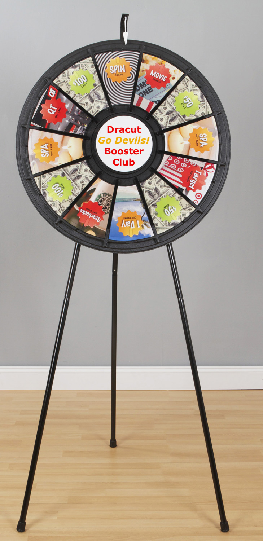 12 Slot Clicker Prize Wheel 63003