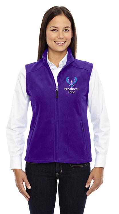 3e7fb3526 Ash City - Core 365 Journey Ladies' Fleece Vest